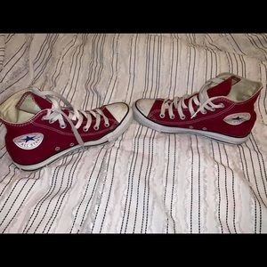 (Converse) Maroon High Top